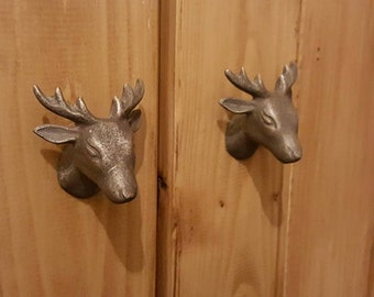 Metal Stag / Deer Drawer Knob