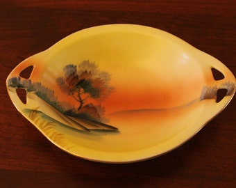 Meito hand painted china