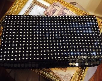 Evening clutch bag- rhinestones clutch bag- wedding clutch bag