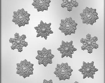 """Snowflake 1-1/4"""" Chocolate Mold - 90-4139"""