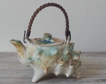 French shell teapot