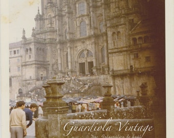 Document photography, Cathedral of Santiago de Compostela - May 1971