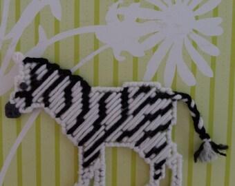 Zee the Zebra Magnet
