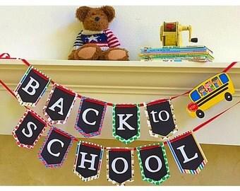 Back To School Banner, Back To School Backdrop, Teacher Banner