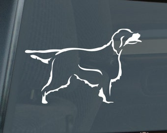 Gordon Setter Die Cut Vinyl Sticker - 814