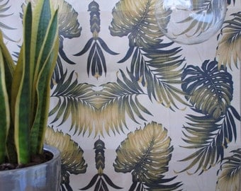 Vintage Tropical Wallpaper