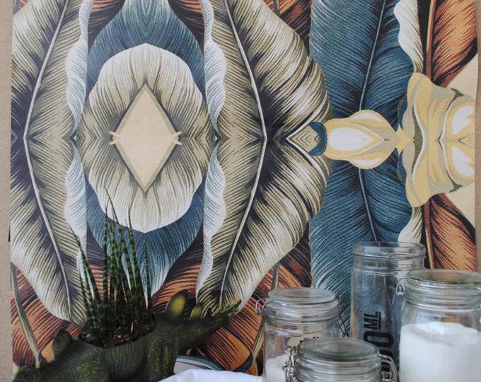 Tropical Vintage Wallpaper
