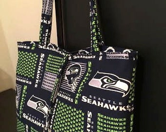 Game day tote...Seahawks
