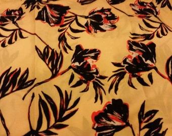 Tulip yellow print