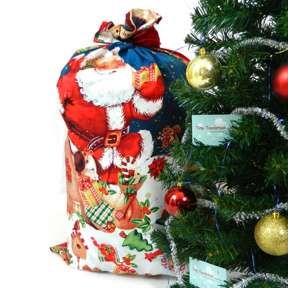 Father Christmas Santa Sack