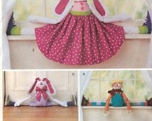 Butterick 3560 Soft Stuff Sewing Pattern for Draft Stopper Dolls