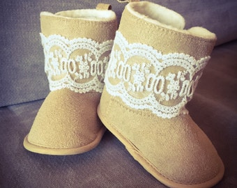 Baby booties, baby uggs, baby boots