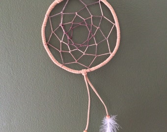 "6"" hemp handmade dreamcatcher"