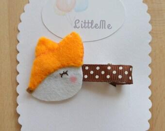 Little deer hair clip