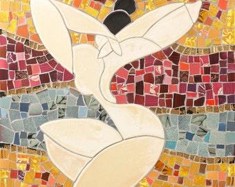 I am beautiful | Mosaic | Home Decor