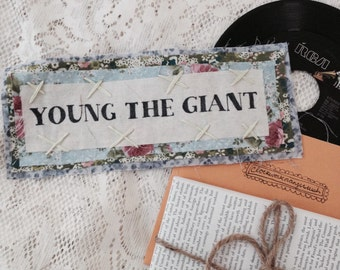Handmade Young the Giant Patch (Large)