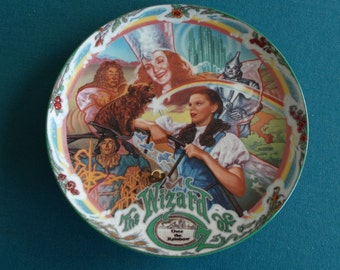 "Wizard of Oz Musical Collector Plate ""Over The Rainbow"" Knowles First in Series 1993 Limited Edition"