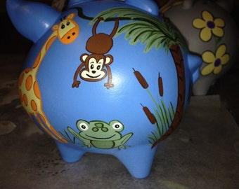 Piggy Bank:Jungle Animals