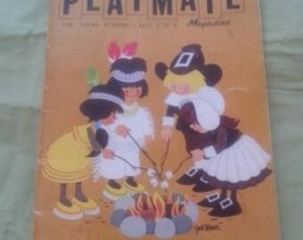 Vintage Children's Playmate Magazine November 1971