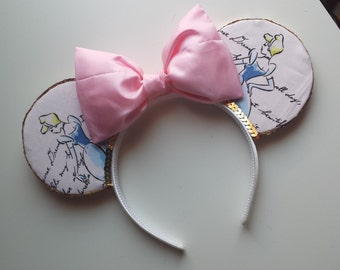 Disney Princess Fabric Mouse Ears (Cinderella)