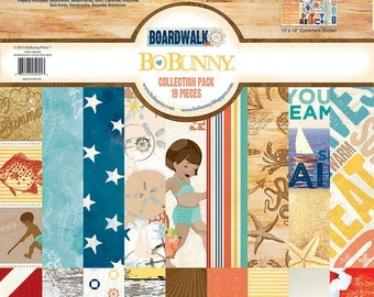 Boardwalk Collection Pack - Bo Bunny 12x12
