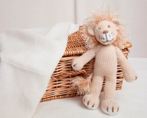 Pdf Knitting Pattern Lion Toy by Angela Turner from AngelaTurnerDesigns on Et...