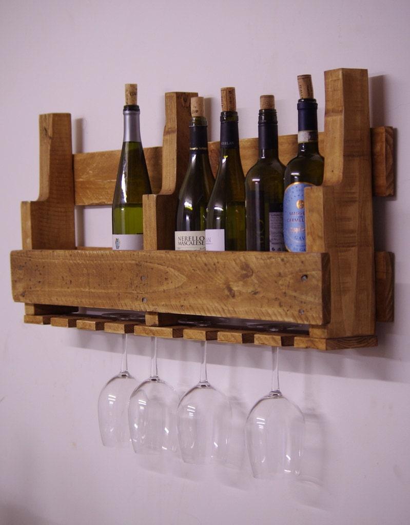 wine rack rustic pallet wine rack wooden wine rack. Black Bedroom Furniture Sets. Home Design Ideas