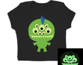 Monster (Glow In The Dark) baby t-shirt