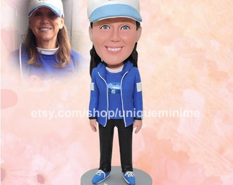 50th Birthday Bobblehead dolls - 50th Gift, Gift for 50th Birthday Gift for Her, Happy 50th Birthday 50th Birthday gifts