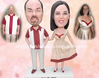Personalized, Personalized Wedding Gift, Funny Gift, Anniversary Gift, Custom Bobblehead dolls, Custom   gift