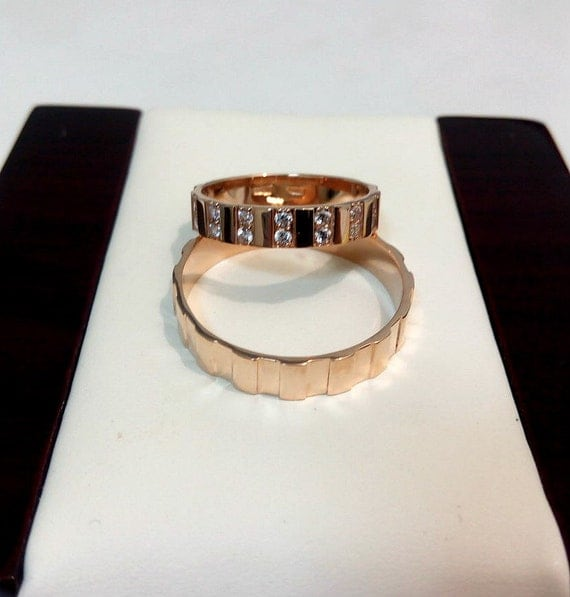 wedding bands his and hers wedding bands by