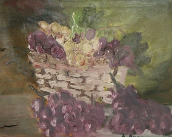 1962 still life oil painting impressionism signed