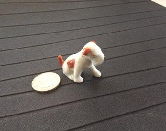Vintage Terrier figurine miniature