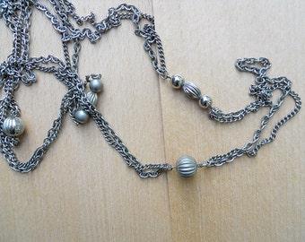 Vintage Silver-tone Necklace