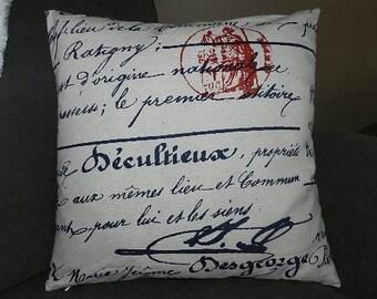 7 Sizes Available - Premier  Penmanship  Pillow Cover