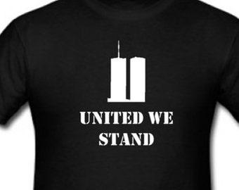 United We Stand memorial shirt