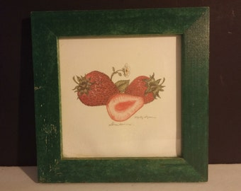 "Marty Fyne ""Strawberry"" Print"