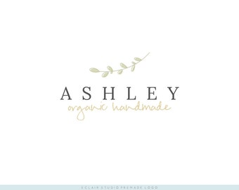 Instant Download Premade Logo - Business Logo, Boutique Logo, Blog Logo, Shop Logo / Ashley