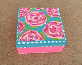 Lilly Pulitzer Inspired Sorority Pin Box