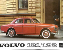 Volvo 121/122 Volvo Amazon Booklet Brochure Advert Leaflet & Specifications 1950s-1960s Car Advertisement