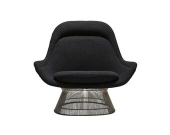 A Warren Platner High Back Lounge Chair for Knoll