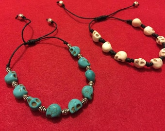 Stone Skulls Bracelet