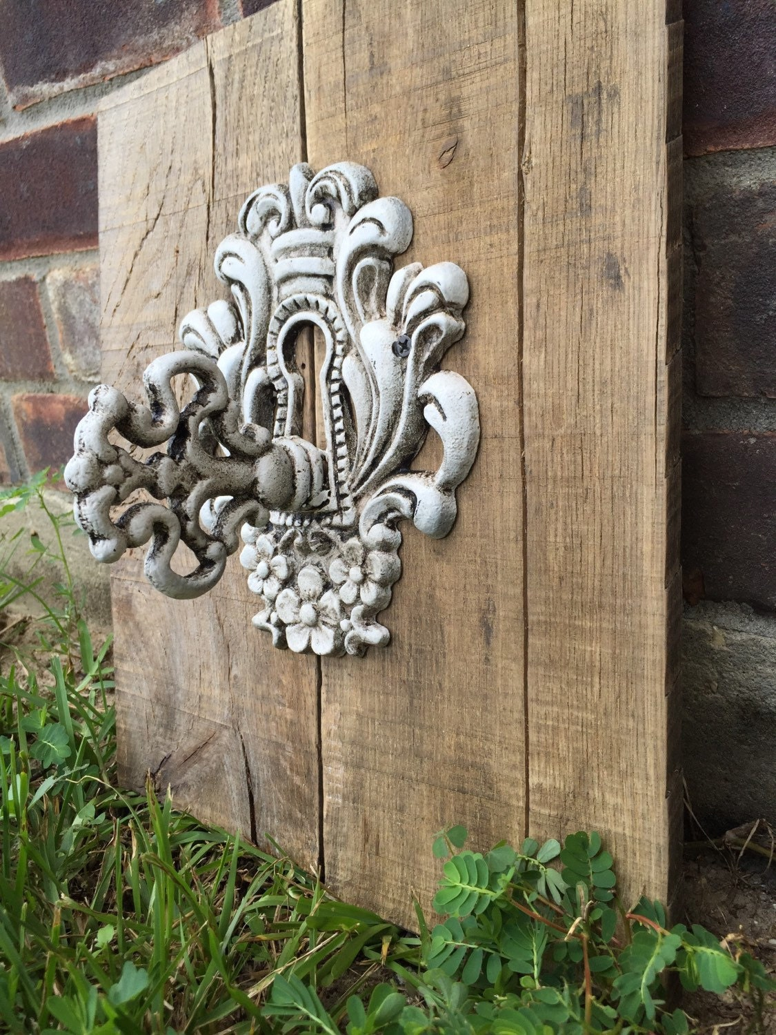Wall Decor Rustic Chic : Rustic home decor shabby chic wall natural wood with