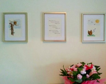 Illustrated Owl frames