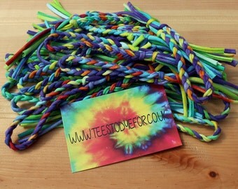Tahiti Tie Dye Friendship Bracelets