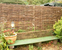 6' x 6' Hazel hurdle/fence panels  -  FREE DELIVERY