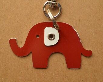 Elephant Pet Tag Dog ID Metal Jungle Animal