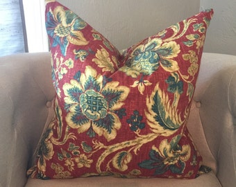 Floral Euro Pillow Cover