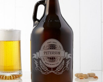 Personalized Brewing Co. 64oz. Beer Growler