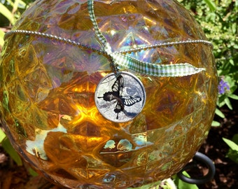 Butterfly Monocle Ball-chain Necklace